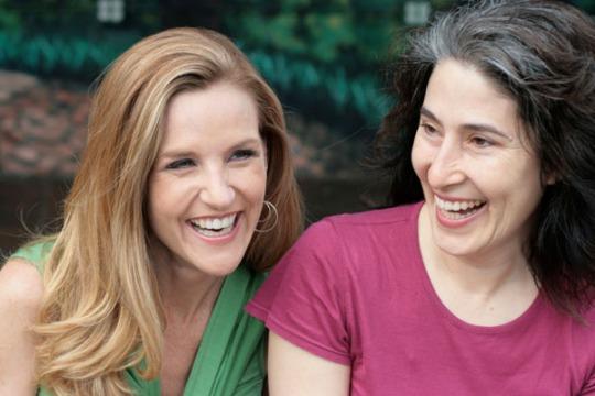 Danielle Smith and Aliza Sherman